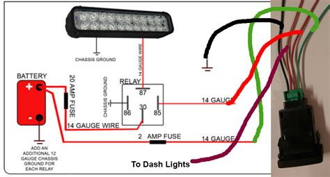 Toyotum Wiring Switch by Need Help Wiring Push Button Light Switch Fro Lid Light