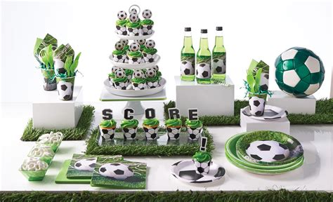 decoration gateau anniversaire football sedgu