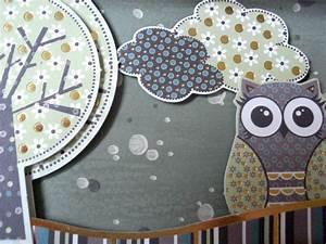 Basteln Mit Tapete : 3d bild mit eulen handmade kultur ~ Orissabook.com Haus und Dekorationen