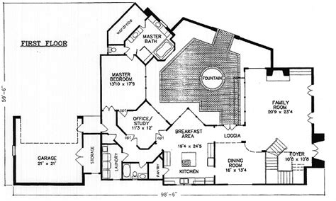 interior courtyard house plans house plans with interior photos 17 best images about