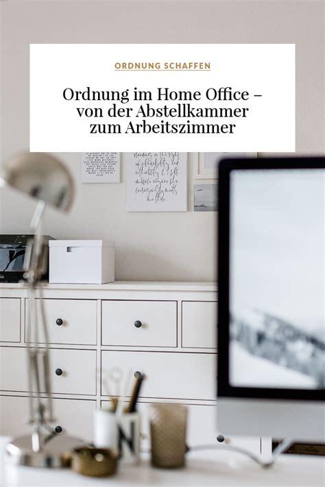 Ordnung Im Arbeitszimmer by Ordnung Im Home Office Der Abstellkammer Zum
