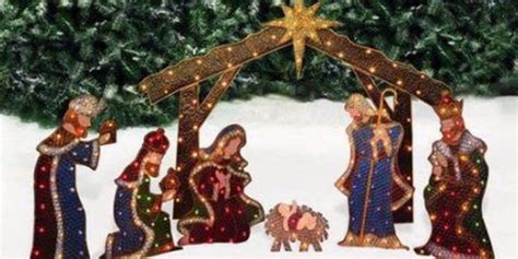 lighted outdoor nativity set ultimate guide to different types of outdoor nativity sets