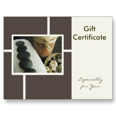 Free Pedicure Gift Certificate Template by Gift Certificates The Best Gift Option