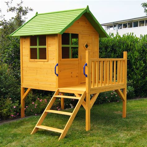 Kinderspielhaus Stelzenhaus Gartenhaus Spielhaus Für