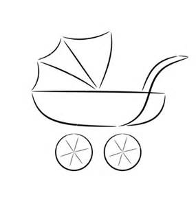 kinderwagen retro design silhouette of a pram flickr photo