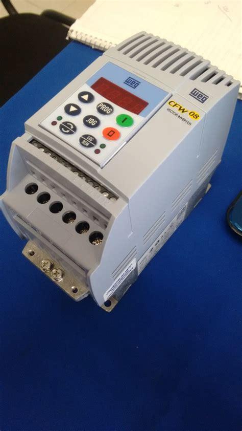variador de frecuencia weg cfw desde hp
