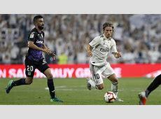 Real Madrid 4 1 Leganes Real Madrid break passing