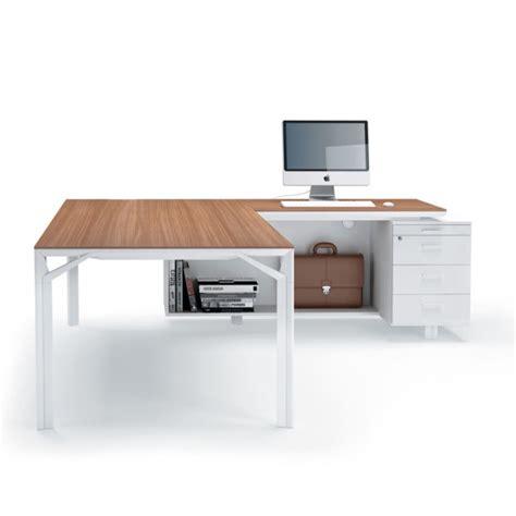 modele bureau design bureau avec retour 180cm 240cm en aluminium eight