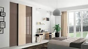 dressing pour votre chambre portes de placard pour chambre With porte d entrée pvc avec miroir salle de bain lumineux sur mesure