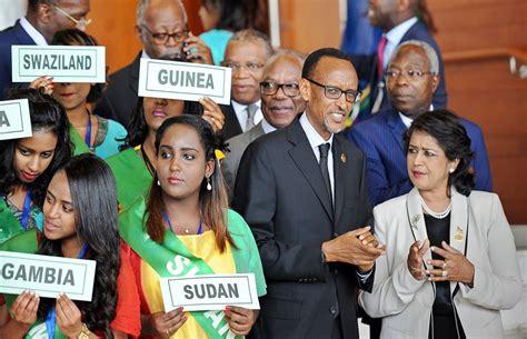 si鑒e union africaine si le canada est de retour ce n est certainement pas en afrique le devoir