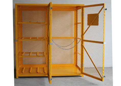 feet  door outdoor propane storage cage gas cylinder storage box anticorrosive