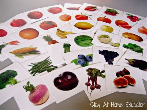 eight food and nutrition theme preschool activities 848 | Eat The Rainbow Food Sort Stay At Home Educator 1000x7501