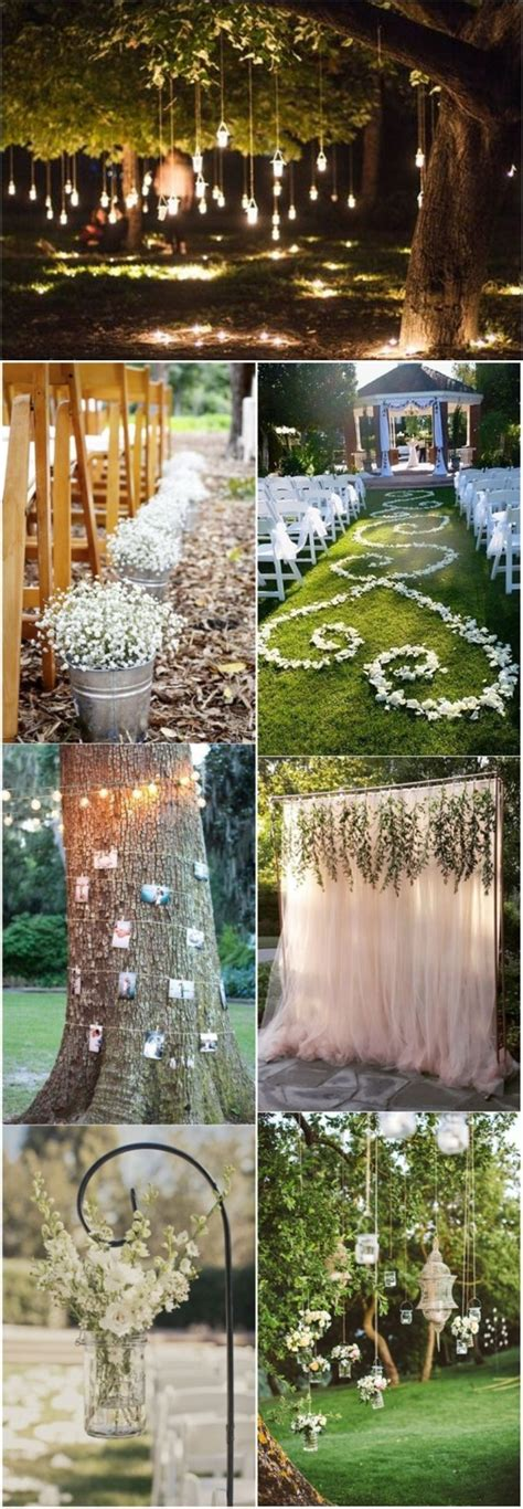 Outdoor Wedding Decorations by 20 Genius Outdoor Wedding Ideas