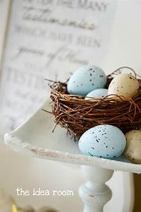 Spring Decor-Bird Nest Pedestal - The Idea Room