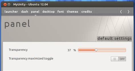 Things To Do After Installing A Template by Cara Merubah Panel Menjadi Transparan Pada Ubuntu 12 04