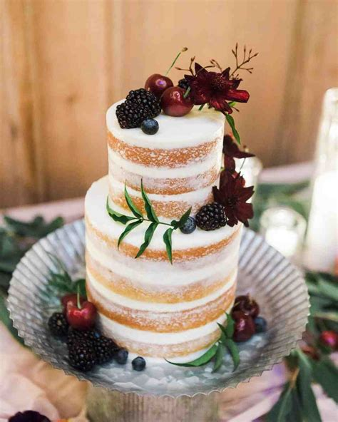 30 Rustic Wedding Cakes Were Loving Martha Stewart Weddings