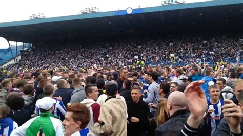 Wednesday v Middlesbrough - Pitch Invasion - YouTube