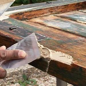 Comment Reparer Des Volets En Bois Abimes : comment reboucher des trous et fissures sur un meuble en ~ Premium-room.com Idées de Décoration