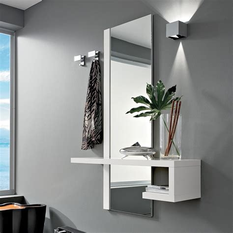 mensola ingresso mobili per ingresso specchiera mensola appendiabiti klaus