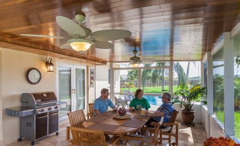 trick turns design sunrooms head wood ceiling finish tips president