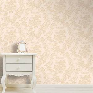 Coloroll Vintage Lace Wallpaper Country Cream | eBay