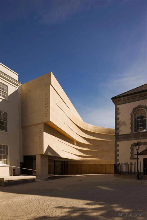 medieval museum  waterford waterford city council architects archdaily
