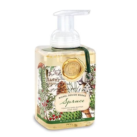 michel design works michel design works spruce foaming soap