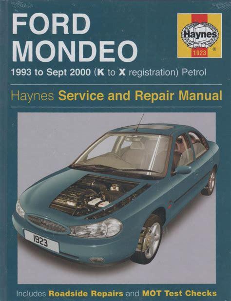 old cars and repair manuals free 1993 ford mustang instrument cluster ford mondeo repair manual haynes 1993 2000 new sagin workshop car manuals repair books