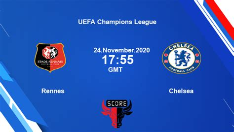 Rennes vs Chelsea Dream11 Today Soccer Match Prediction ...