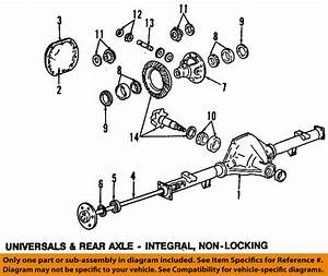 Ford Rear Axle Seal F