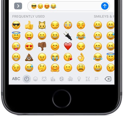 how to make keyboard bigger on iphone how to use emoji like a pro in messages for iphone and