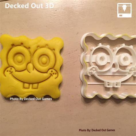 3D Printable Sponge Bob Square Pants Cookie Cutter by Adam