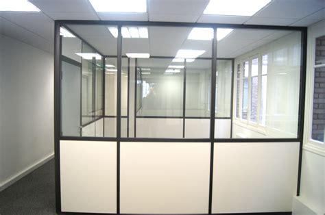 cloison modulaire bureau espace cloisons alu ile de agencement et amé