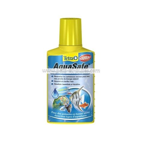 tetra aquasafe conditionneur d eau pour poisson d aquarium