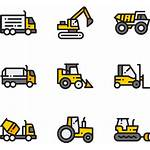 Construction Equipment Icon Clipart Machinery Transparent Pinclipart