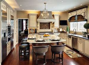 small kitchen design ideas with the best decoration With kitchen decorating ideas for the kitchen island