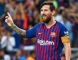 Barcelona 8-2 Huesca: Lionel Messi scores twice in ...