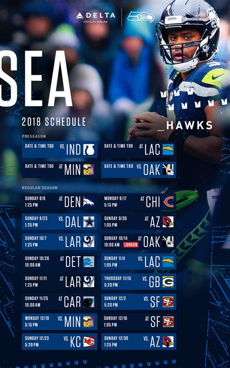 seahawks schedule seattle seahawks seahawkscom