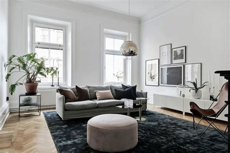 A Spacious, Bright And Stylish Home In Gothenburg