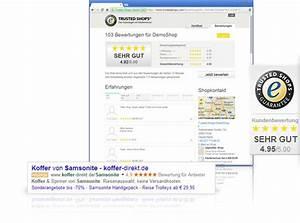 Trusted Shops Login : kundenbewertungen sammeln zeigen mit trusted shops ~ A.2002-acura-tl-radio.info Haus und Dekorationen