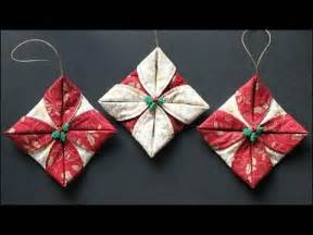 folded fabric ornaments dancest ru