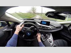 BMW i8 362HP POV test drive GoPro YouTube