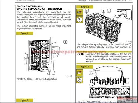 iveco cnh engines repair manual auto repair manual forum heavy equipment forums