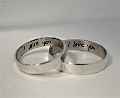 awesome wedding rings engraving ideas matvuk