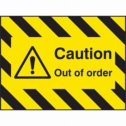 Order Sign Door Caution Signs Screen Construction