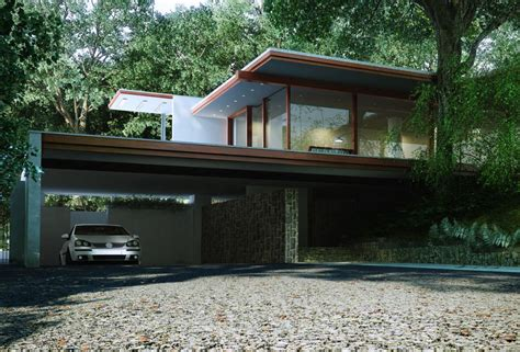 Villa B14 In Garabr by 3d Garage In A Villa House Cgtrader