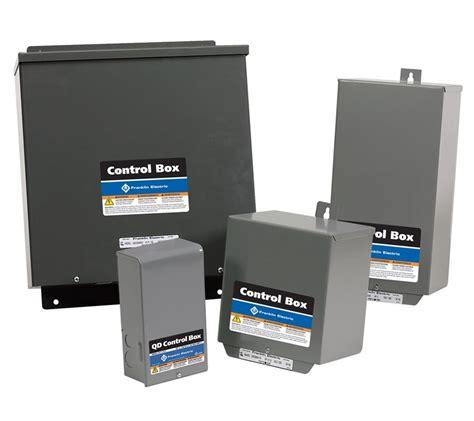 control boxes motors controls north america water