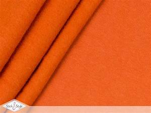 Sweat Stoff Meterware : sweat stoff uni orange kuschelweich stoffe und meterware g nstig online ~ Watch28wear.com Haus und Dekorationen