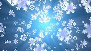 Snow Falling Animated Abstract Background Stock Footage ...