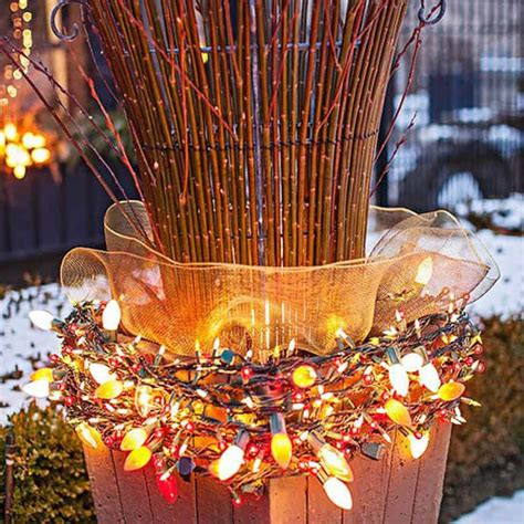 outdoor christmas lights ideas for your yard decoration